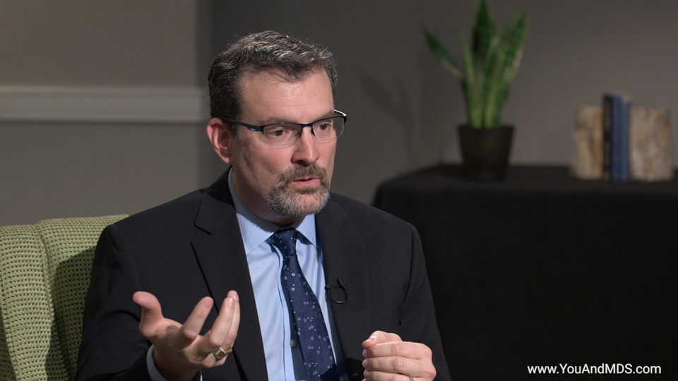 Expert Video - Are there clinical trials for MDS-related anemia? What does the future hold?
