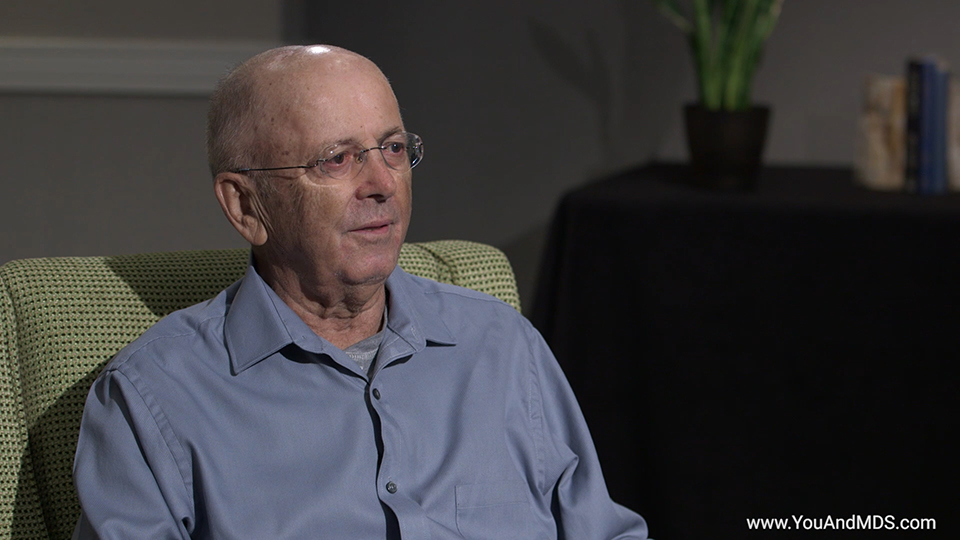 Patient Video - Bill's story: How did you find out you had MDS-related Anemia?