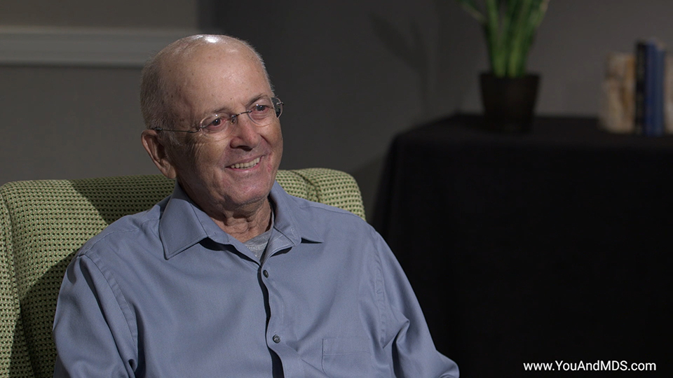 Patient Video - Bill's story: How was your MDS-related Anemia diagnosed?