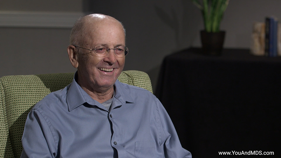 Patient Video - Bill's story: What has been the greatest success and greatest challenge with your MDS-related Anemia treatment?